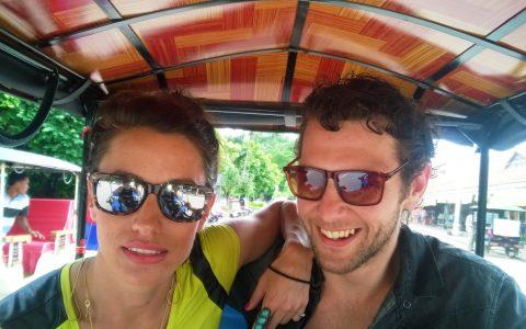 Marie Luke tuktuk